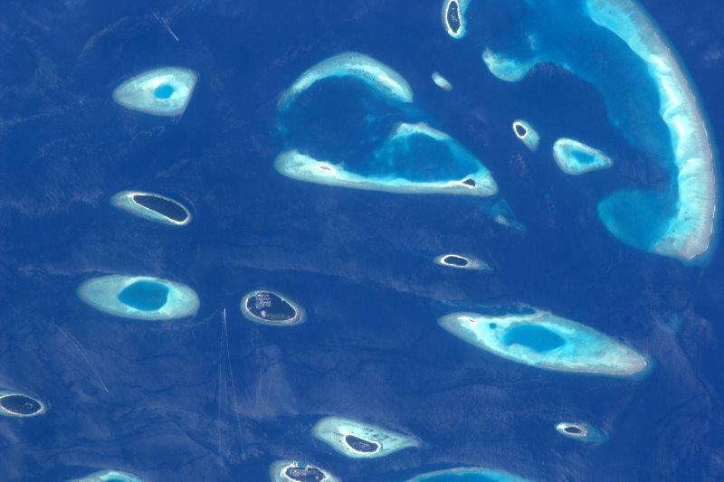 Molvides острова Индийского океана. Потрясающе красиво!
