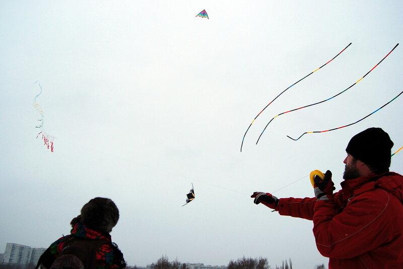 Слёт воздушных змеев в Коломенском