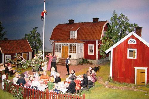 Швеция. Остров Djurgarden. Музей Junibacken.