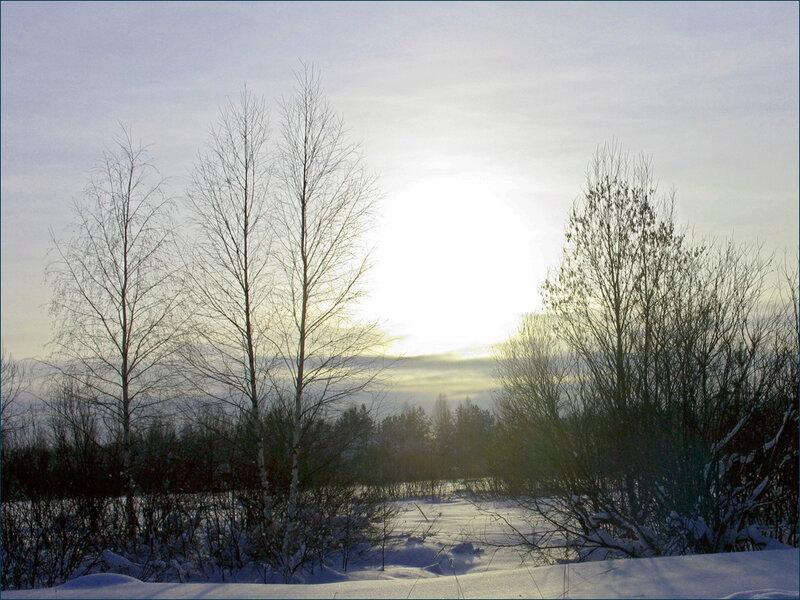 В зимний вечер