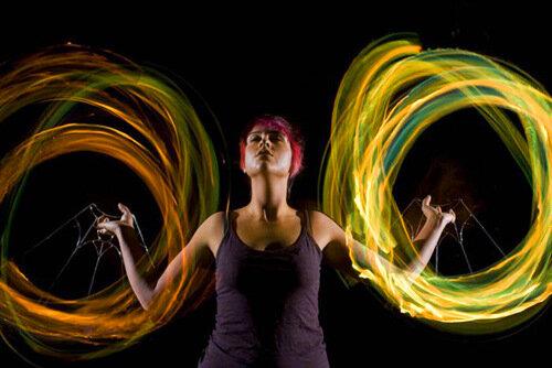 Танцы с огнем. 19 пылающих фотографий