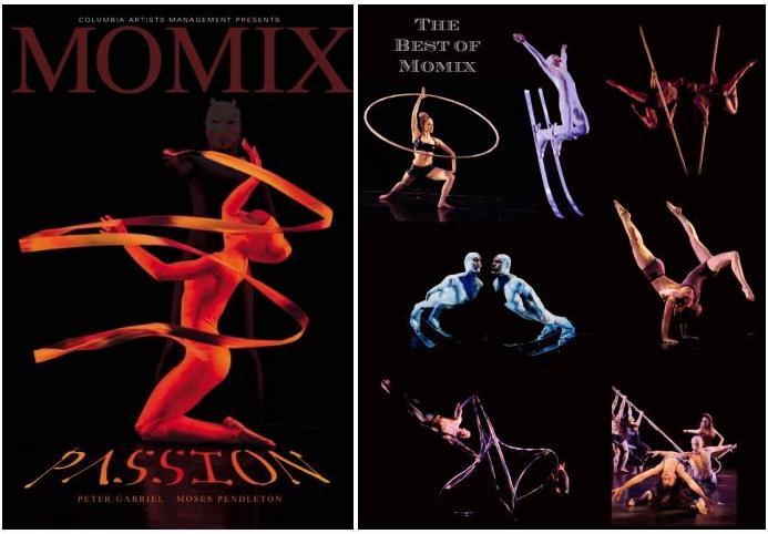 """Momix Dance Theatre Company выступили с премьерой на """"Bothanica"""" сцене Рима, Италия, 2-3 февраля 2010 года."""