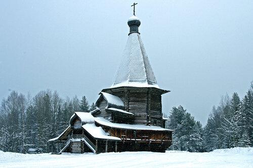 Церковь во имя Святого Георгия.1672 г.