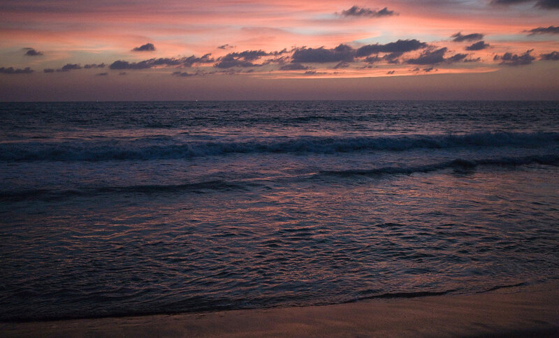Индийский океан.