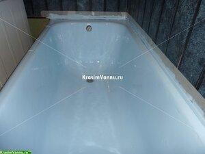 Эмалировка ванн. г. Реутово, Юбилейный проспект 14 ПОСЛЕ