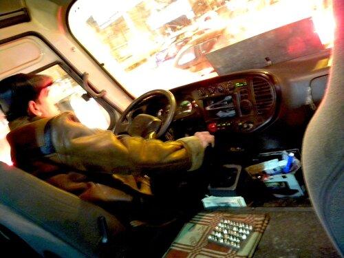 водитель со смекалкой*