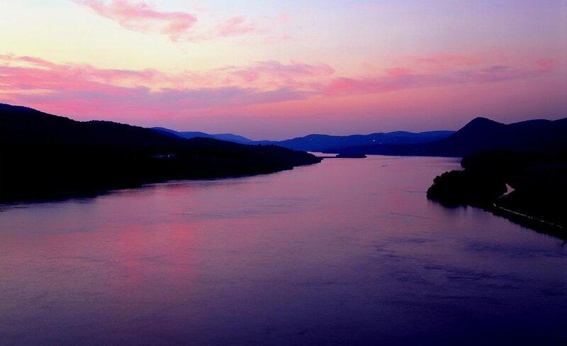 Закат над Днестром