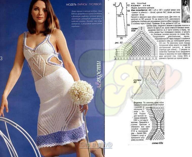 Платья,юбки... Большущая подборка!