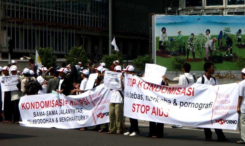 Демонстрация в Джакарте