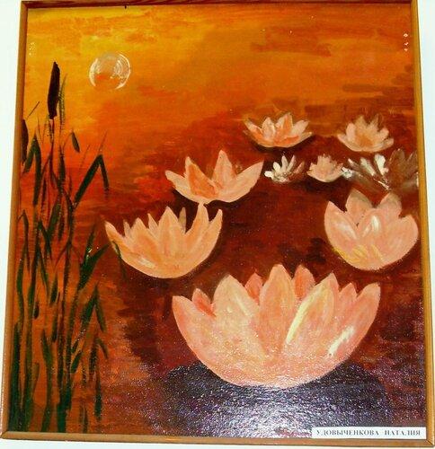 Картины юных ахтарских художников