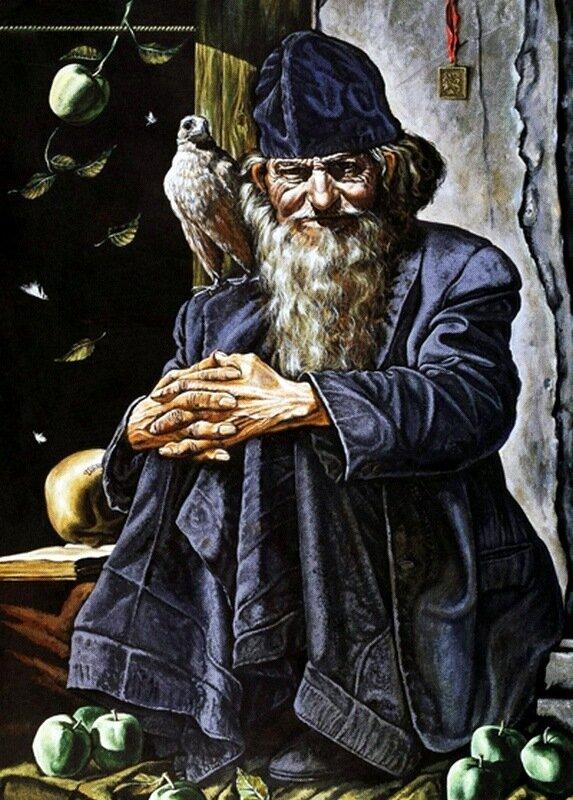 Михаил Малеев. Яблочный Спас.jpg
