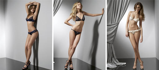 Sisley Fall-Winter 2009/2010 Lingerie Collection