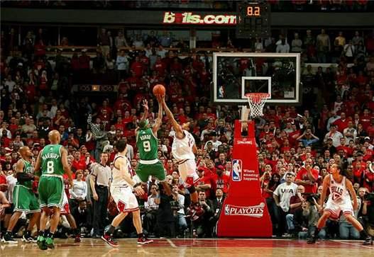 2000s Top 10 NBA Games - Celtics - Bulls 127-128 (3 OT) / 6-я игра первого раунда плей-офф 2009