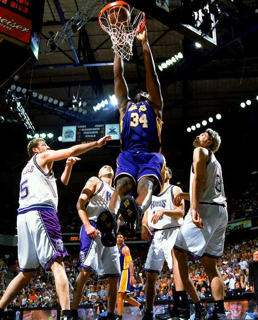 2000s Top 10 NBA Games - Lakers - Kings 112-106 (OT) / 7-я игра Западного финала 2002