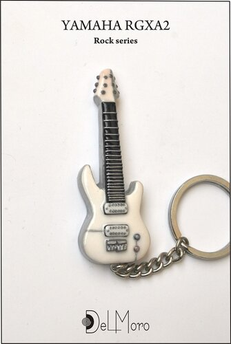 YAMAHA RGXA2 electric guitar keyring