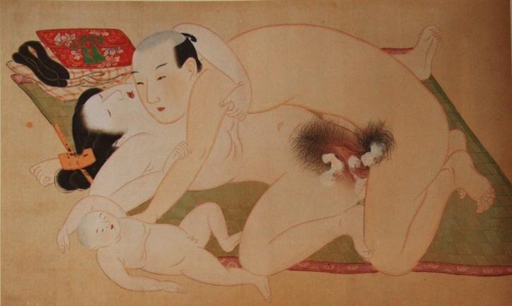 Японские порногравюры