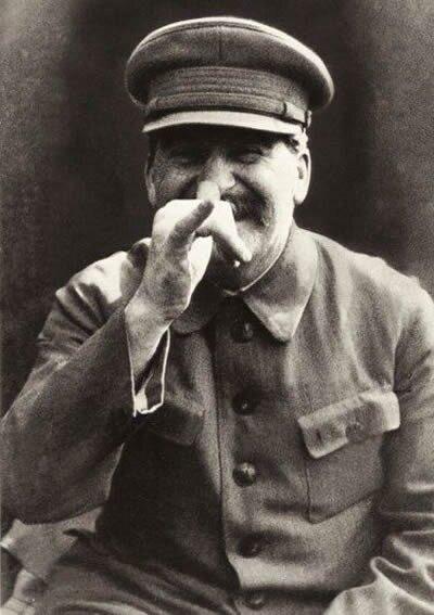 Улыбка Сталина