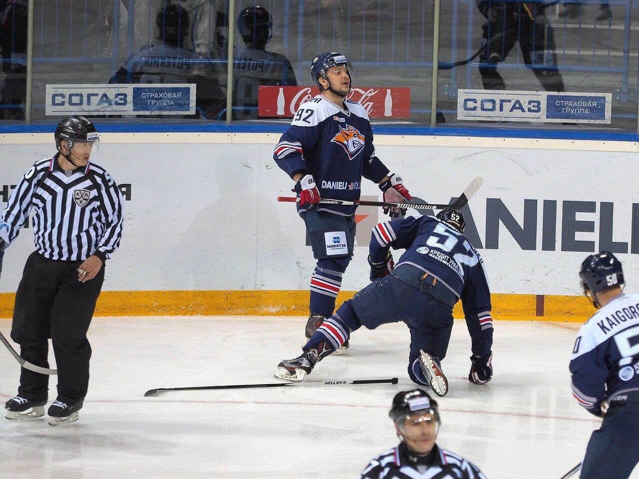 62Плей-офф 2016 Восток 1/2 Металлург - Сибирь 16.03.2016