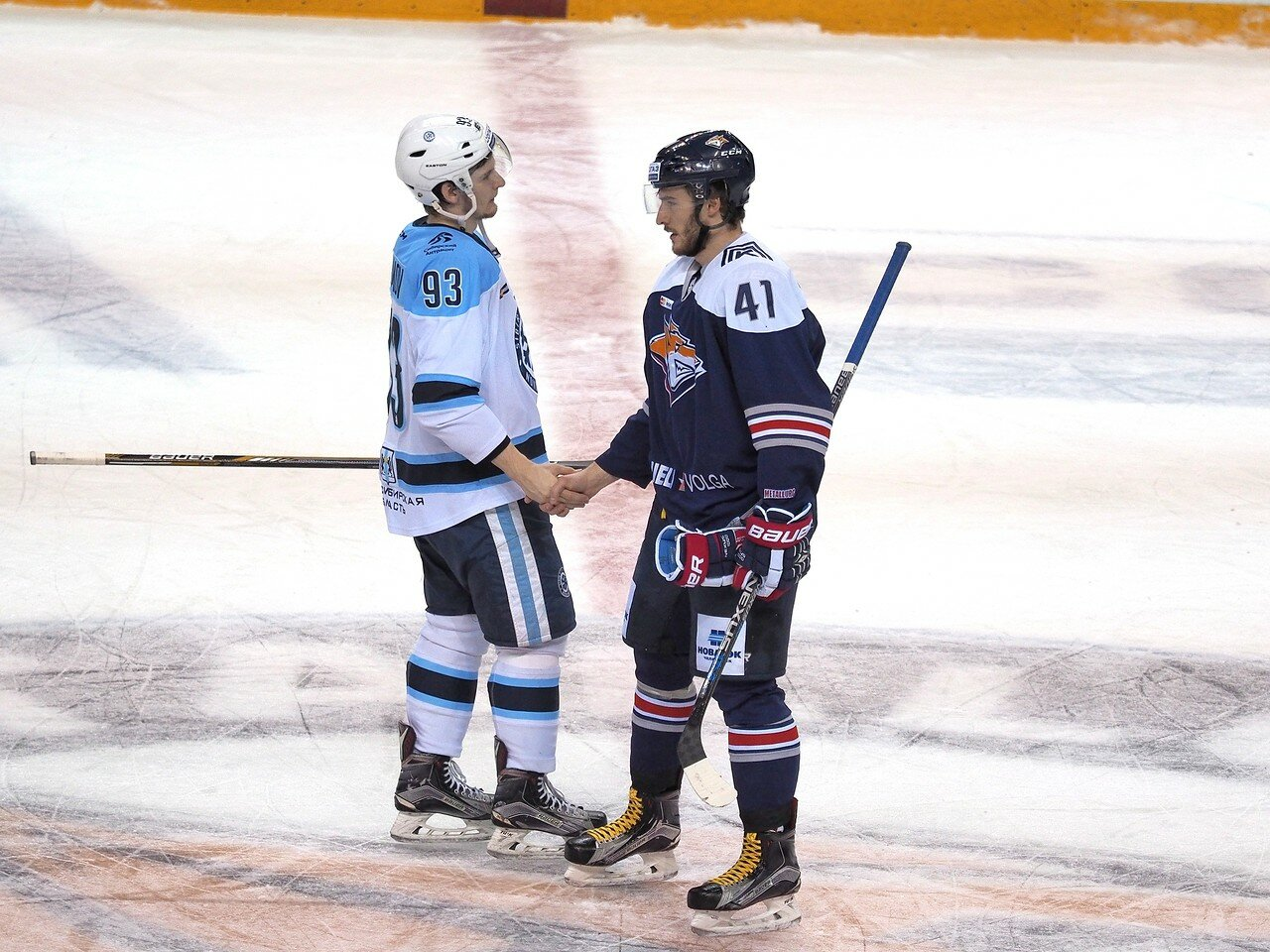 79Плей-офф 2016 Восток 1/2 Металлург - Сибирь 16.03.2016