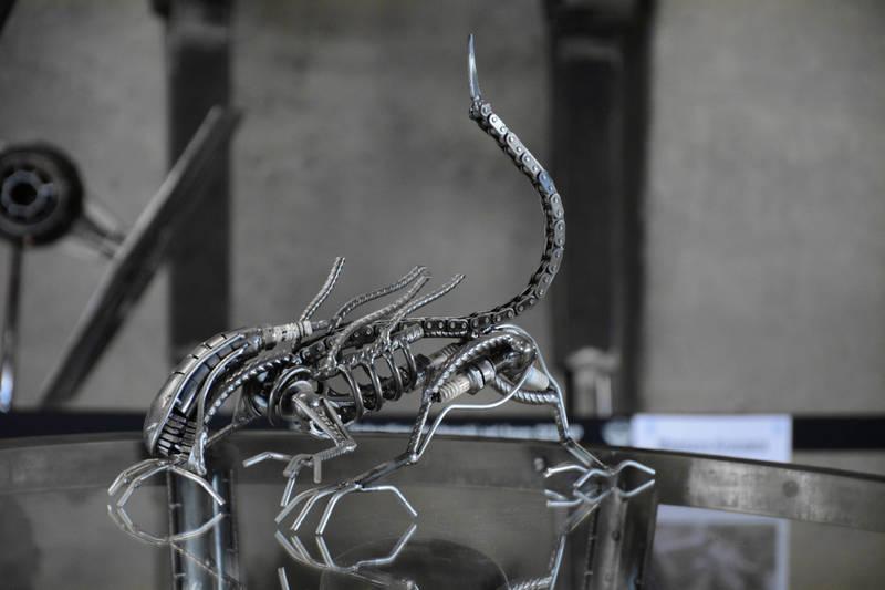 Польский художник превращает металлолом в оригинальные скульптуры работы, Себастьян, вдохновением, рождены, люблю, создавать, именно, практически, поклонник, научнофантастических, фильмов, поэтому, чтото, ничего, удовольствие», пишет, сайте, поляк, огромное, доставляет