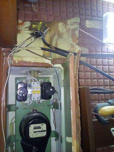 Вызов электрика на Купчинскую улицу (Фрунзенский район СПб, поставарийная работа).