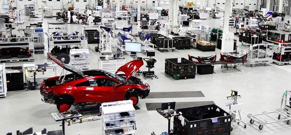Honda начинает выпуск уникального спорткара NSX