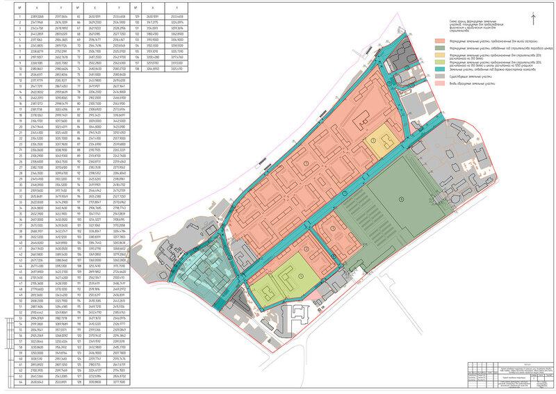 Проект планировки территории ЗиМ