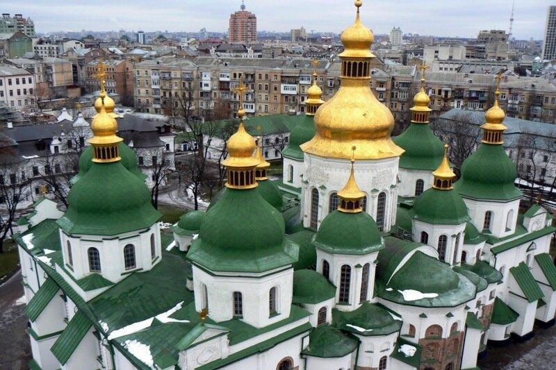 Софийскому собору исполнилось 1000 лет