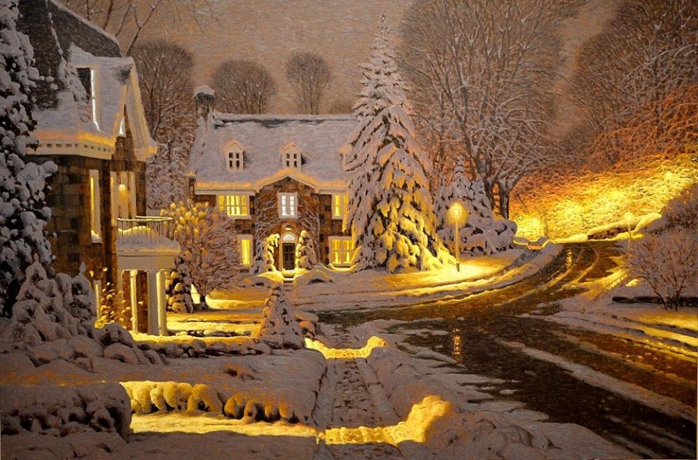 15картин, наполненных уютом зимнего вечера