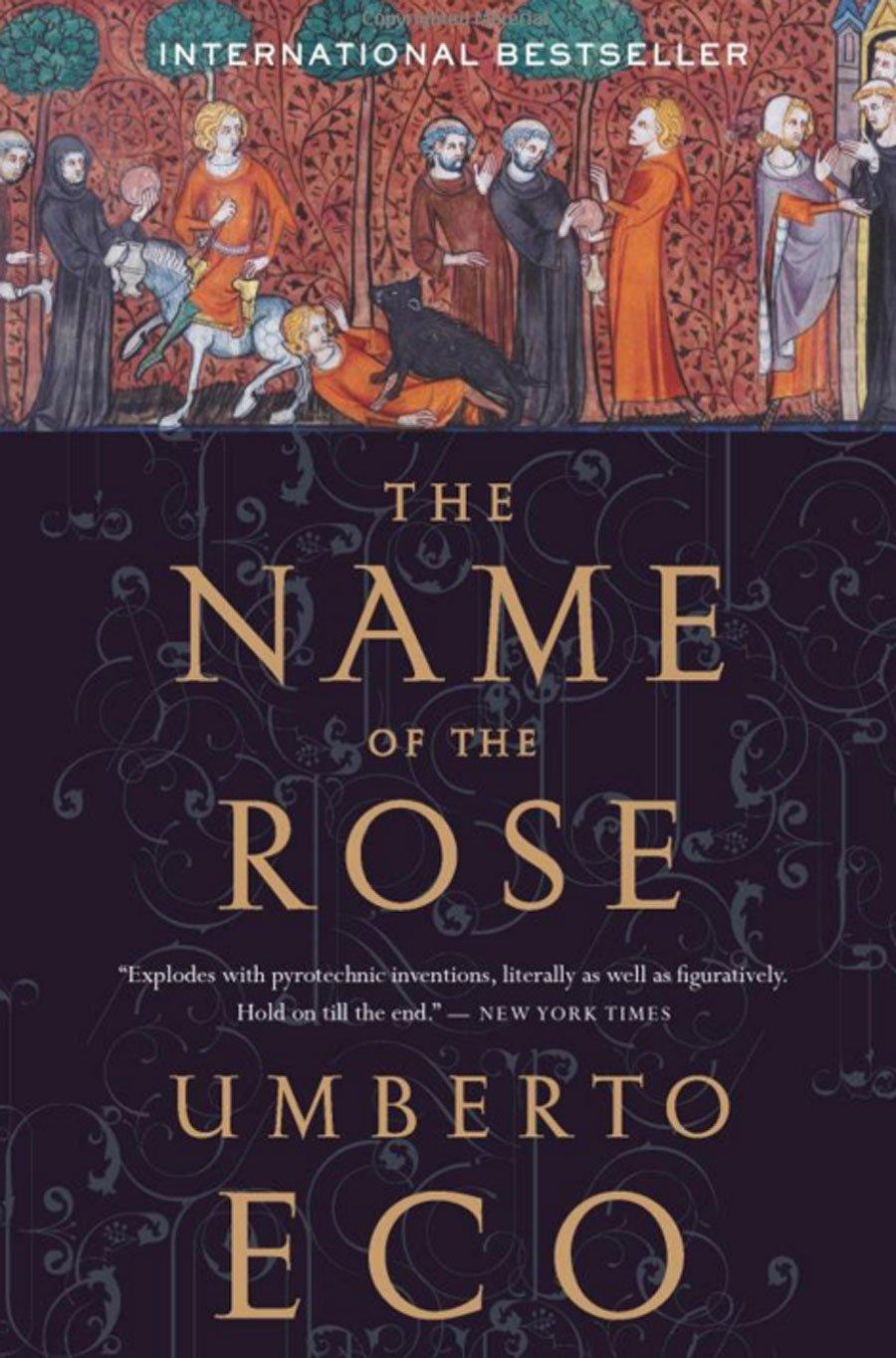 Первый роман Умберто Эко быстро стал международной сенсацией. Во всём мире продали 50 миллионов экзе