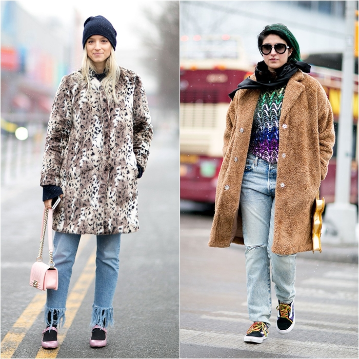 How to Wear Jeans with a Coat: Street Style picture 8