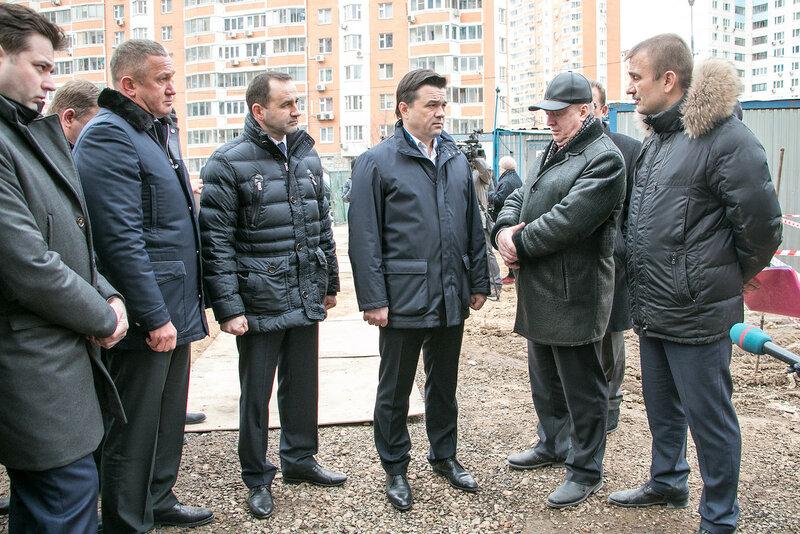 Андрей Воробьёв посетил Павшинскую пойму