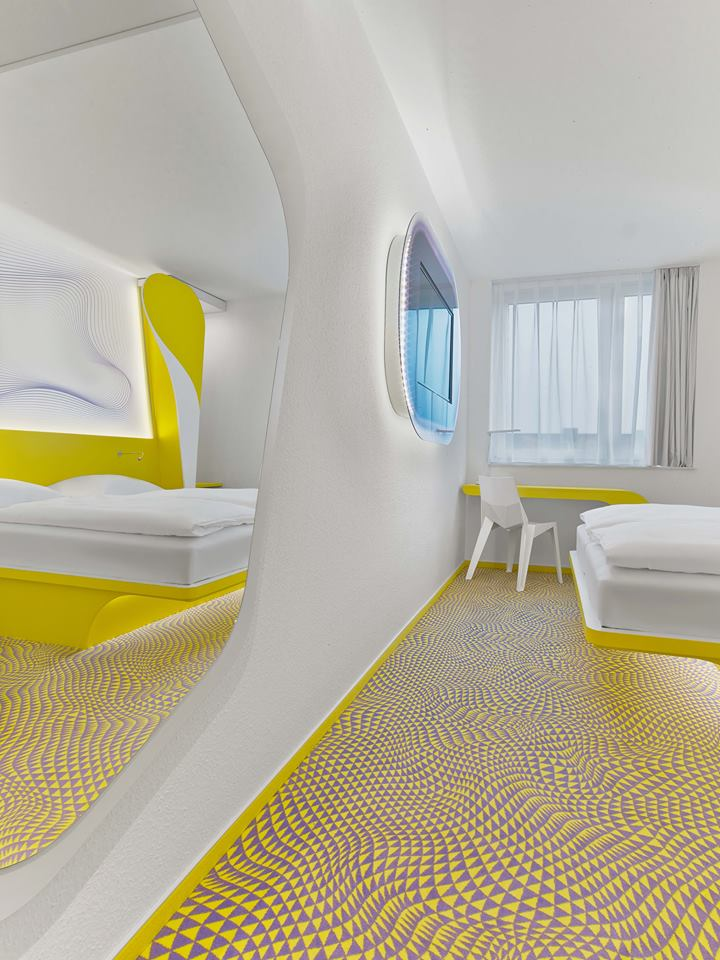Prizeotel Design by Karim Rashid - Archiscene - Your Daily Architecture & Design Update