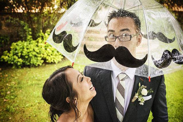 Moustache illusion. (Photo by Fabio Mirulla/Caters News Agency/ISPWP)