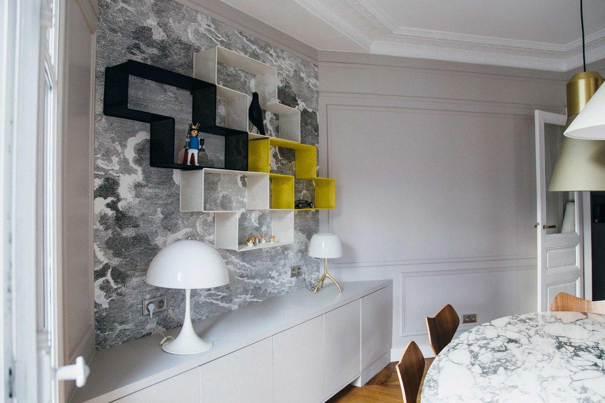 Camille Hermand Architectures, старые дома парижа, квартира в париже фото, реконструкция старой квартиры
