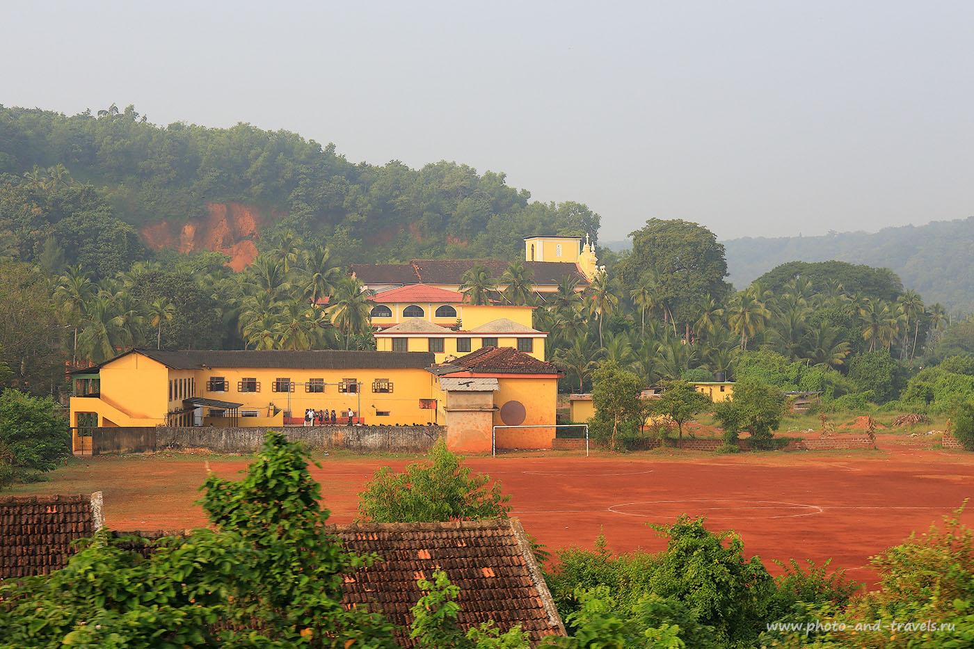 Фото 12. Католическая школа. Отчеты туристов об отдыхе на Гоа. (24-70, 1/400, 0eV, f9, 70mm, ISO 100)