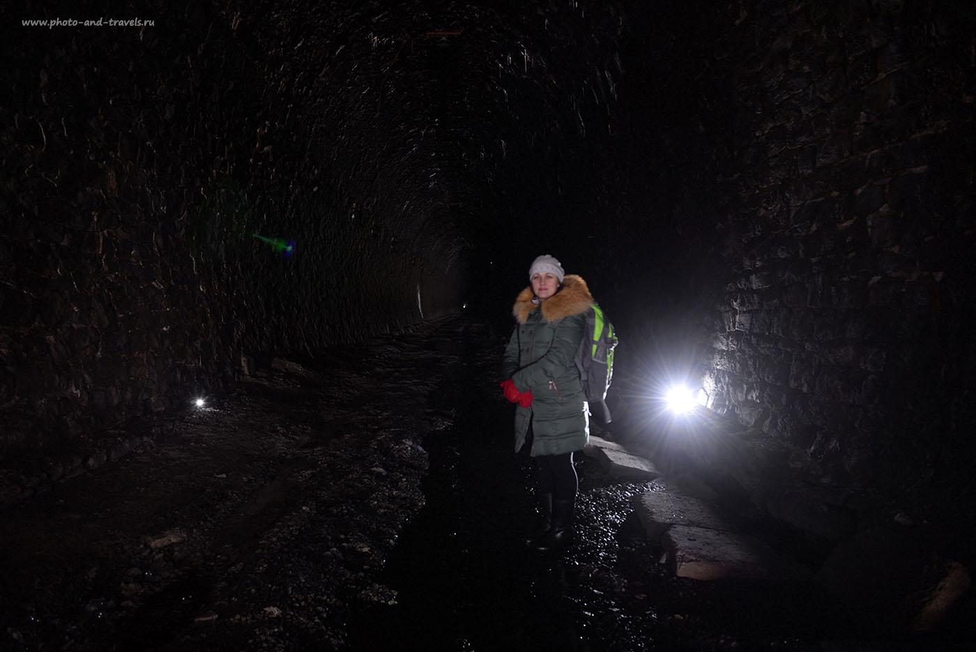Фотография 4. Дидинский тоннель. Необработанный RAW.