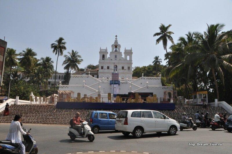 Церковь непорочного зачатия Пресвятой Девы Марии в Пананджи