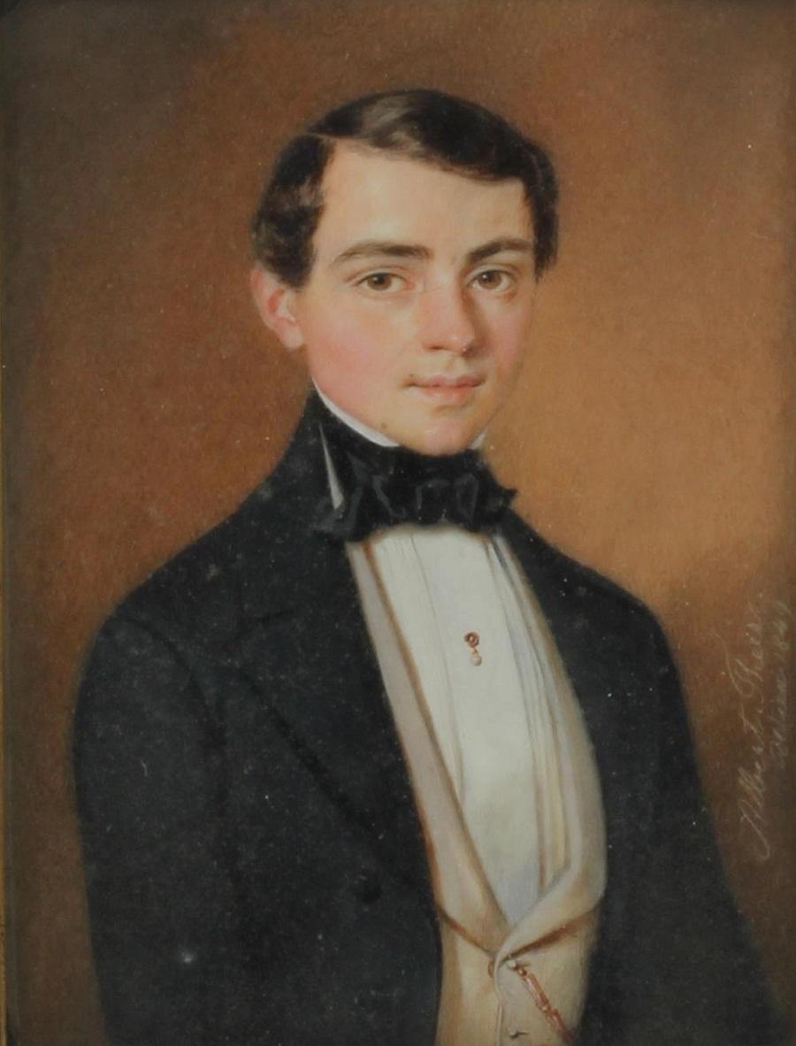 Albert Theer(Johannisberg 1815-1902 Wien)