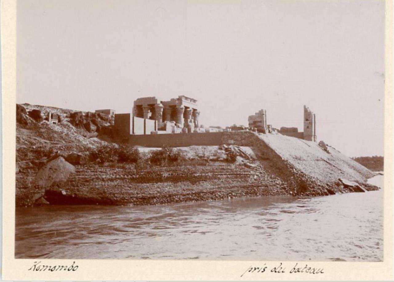Храм Себека и Гора. 1900