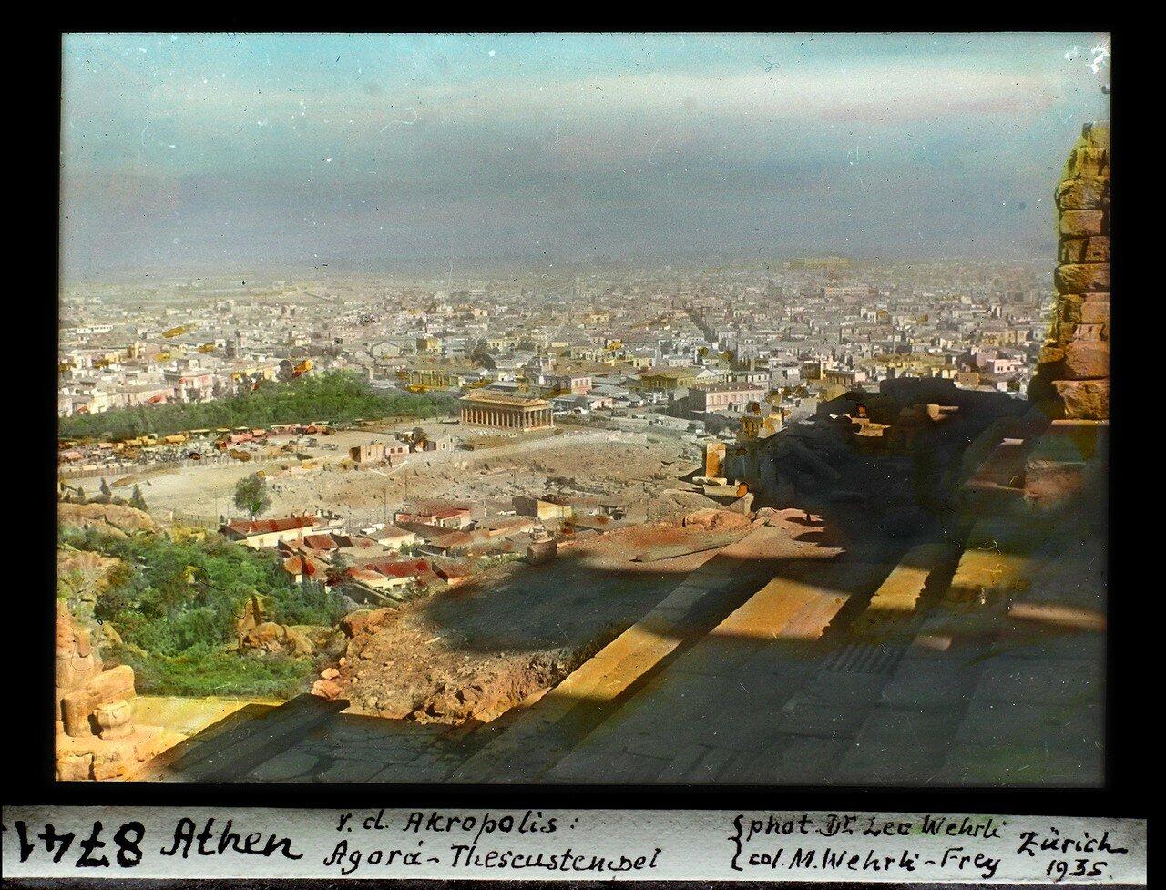 Акрополь. Агора и Храм Зевса