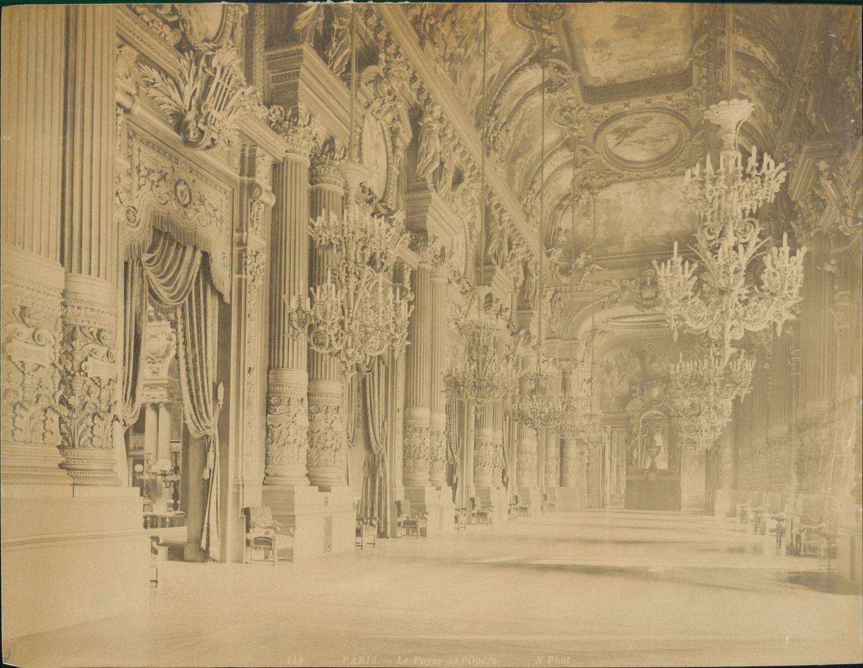 1889. Фойе Парижской оперы