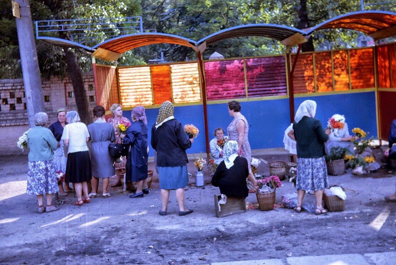Киев. Торговля цветами