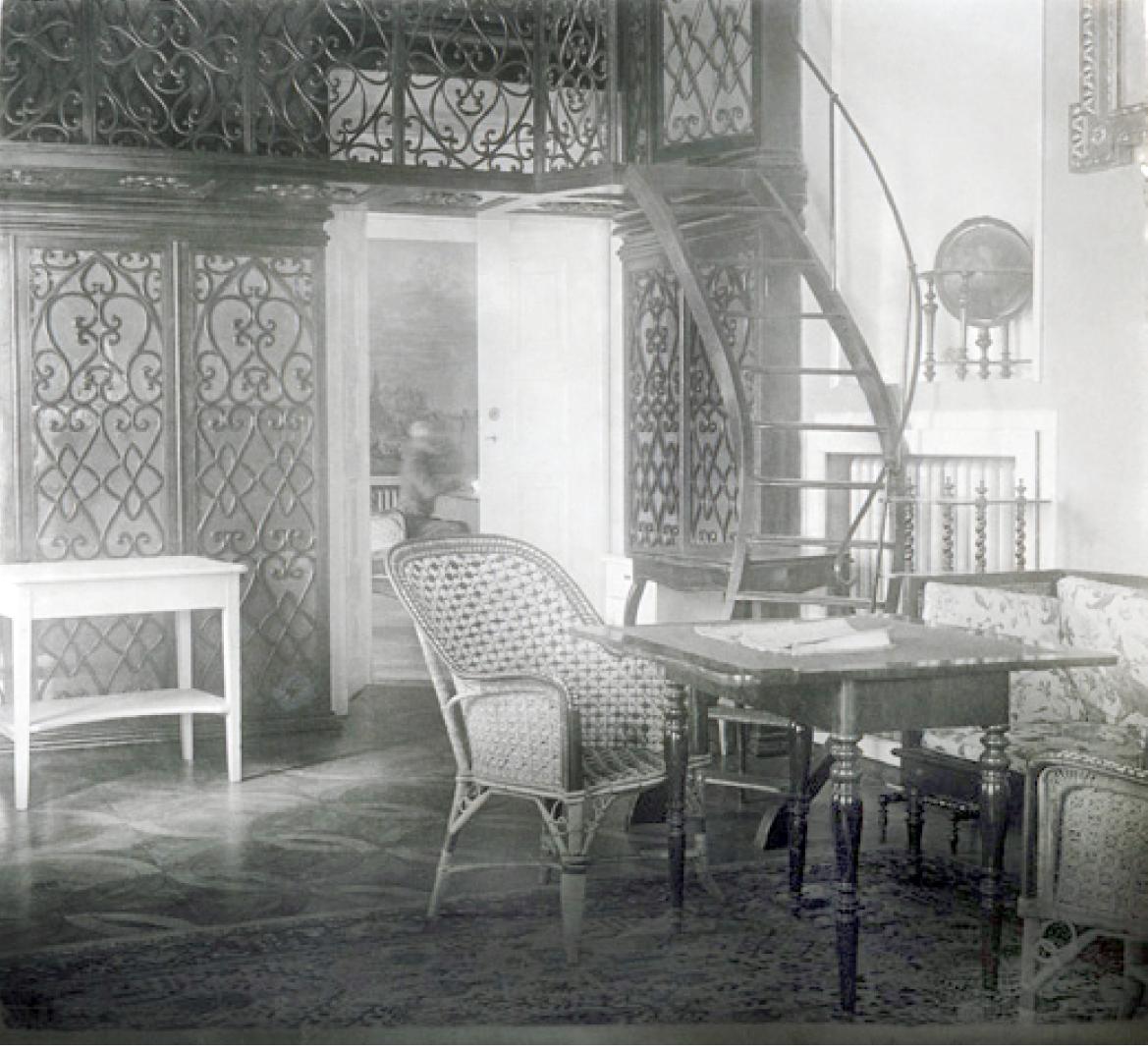 42. 1915. Штаб 46-й пехотной дивизии в замке князя Любомирского. Июнь. Яновец-на-Висле
