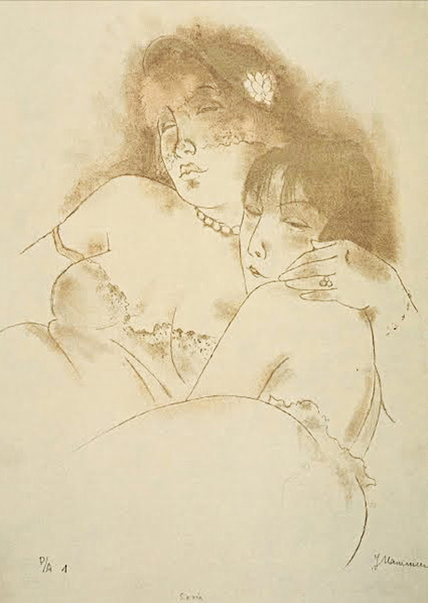 Siesta. Jeanne Mammen (1890-1976)j