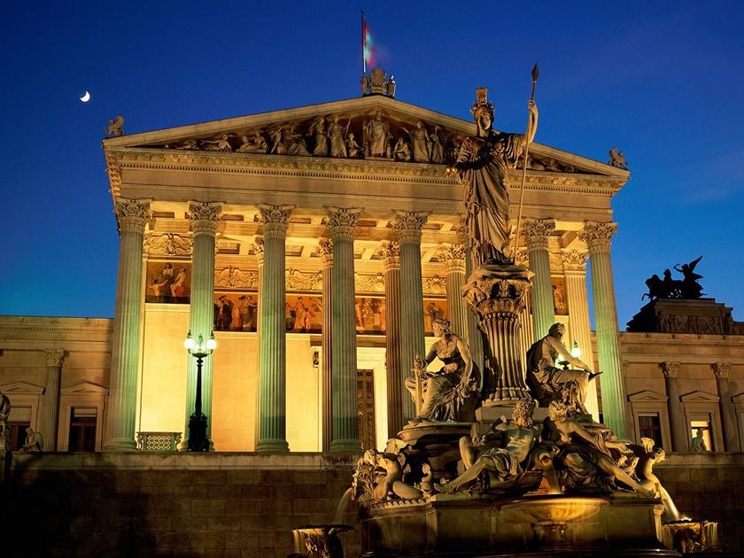 Фотографии прекрасного города Вены (Австрия)