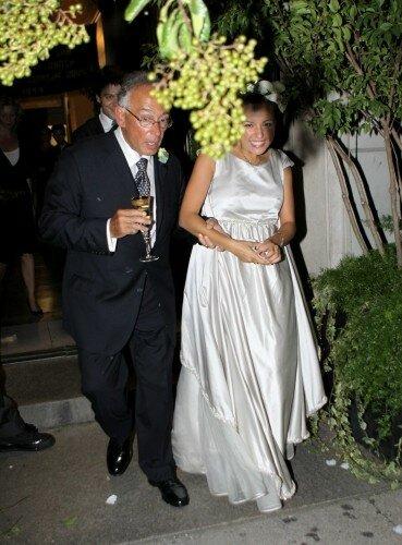 Хорхе на свадьбе сына Бернардо