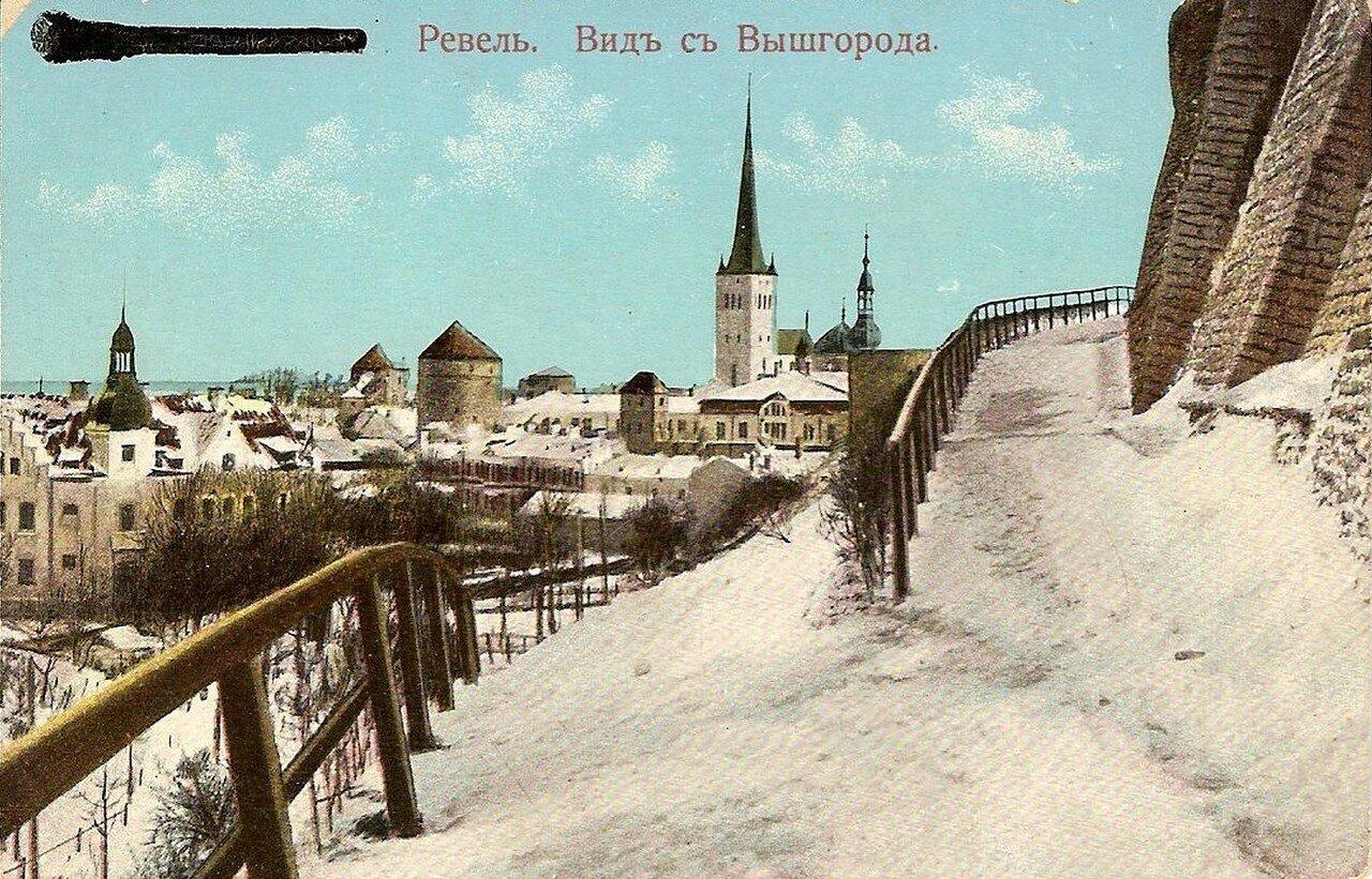 Вид с Вышгорода