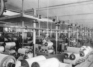 Отделение текстильной фабрики
