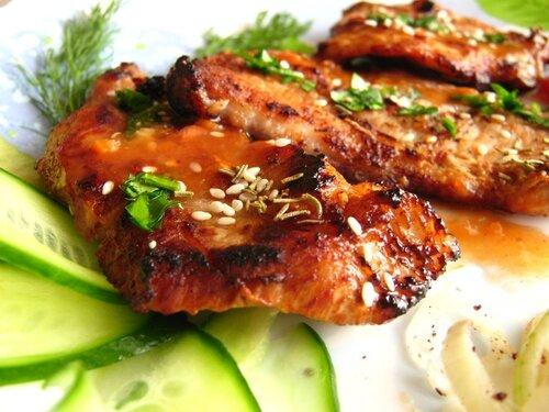 мясо в горчичном соусе в духовке рецепт